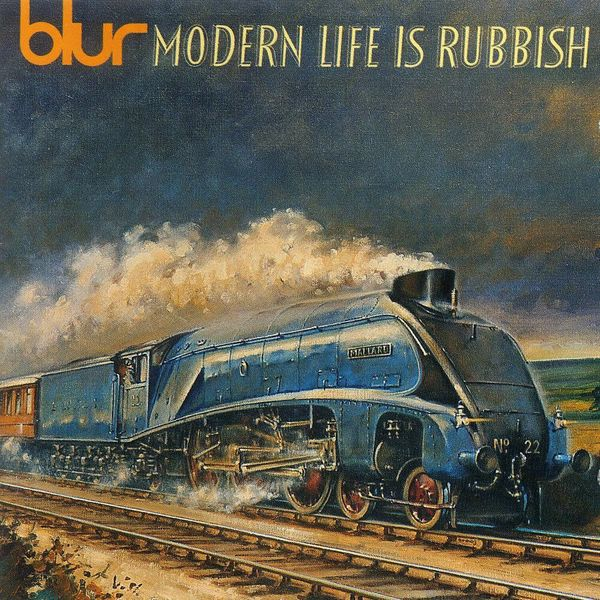 Album artwork of 'Modern Life Is Rubbish' by Blur