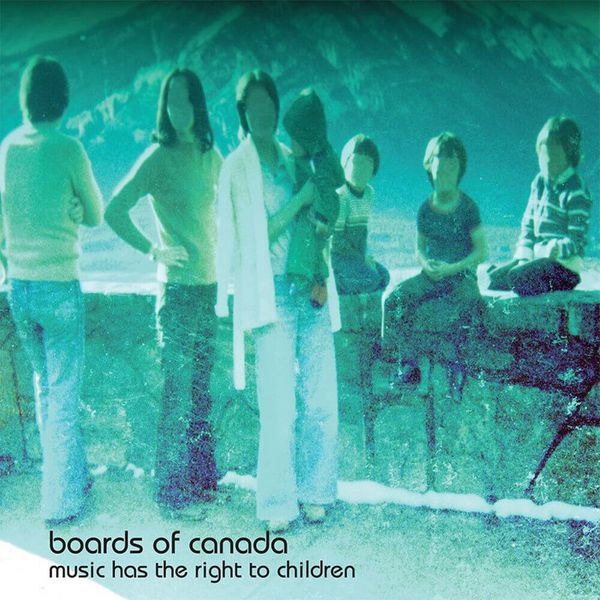 Album artwork of 'Music Has the Right to Children' by Boards of Canada
