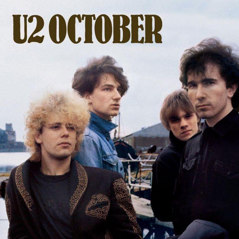 Album artwork of 'October' by U2