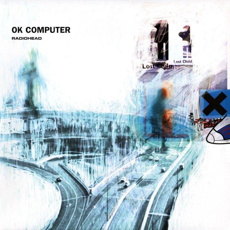 Album artwork of 'OK Computer' by Radiohead