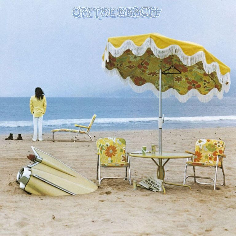Album artwork of 'On the Beach' by Neil Young