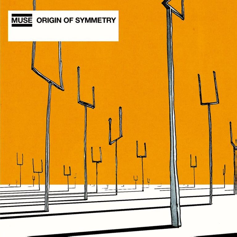 Album artwork of 'Origin of Symmetry' by Muse