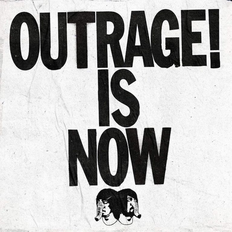 Album artwork of 'Outrage is Now' by Death from Above