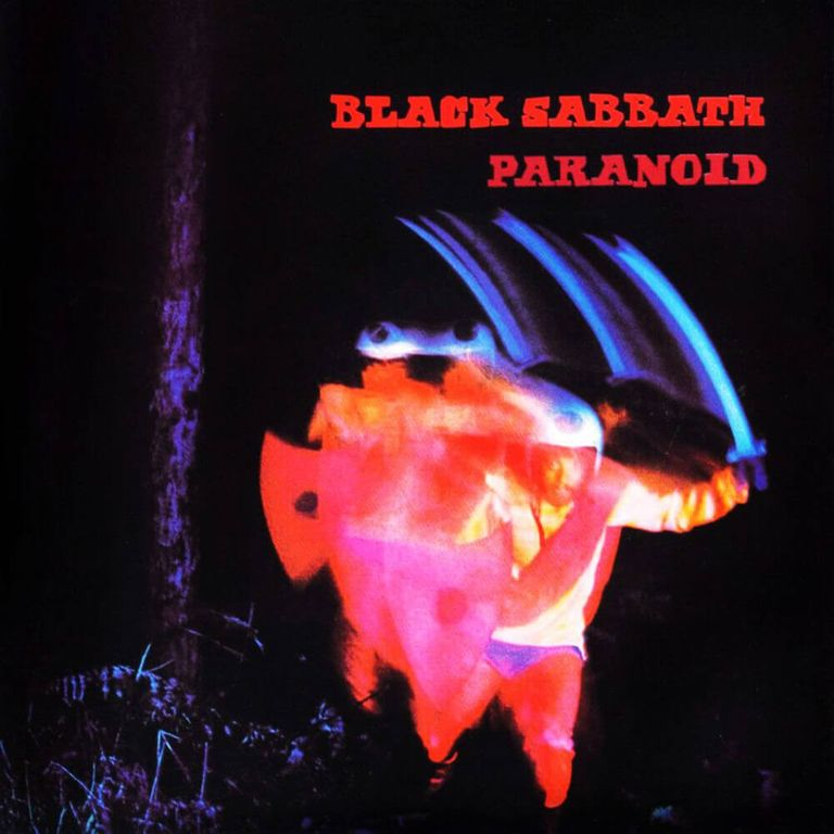 Album artwork of 'Paranoid' by Black Sabbath