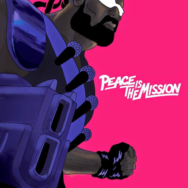 Album artwork of 'Peace is the Mission' by Major Lazer