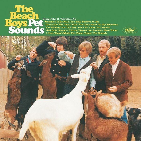 Album artwork of 'Pet Sounds' by The Beach Boys