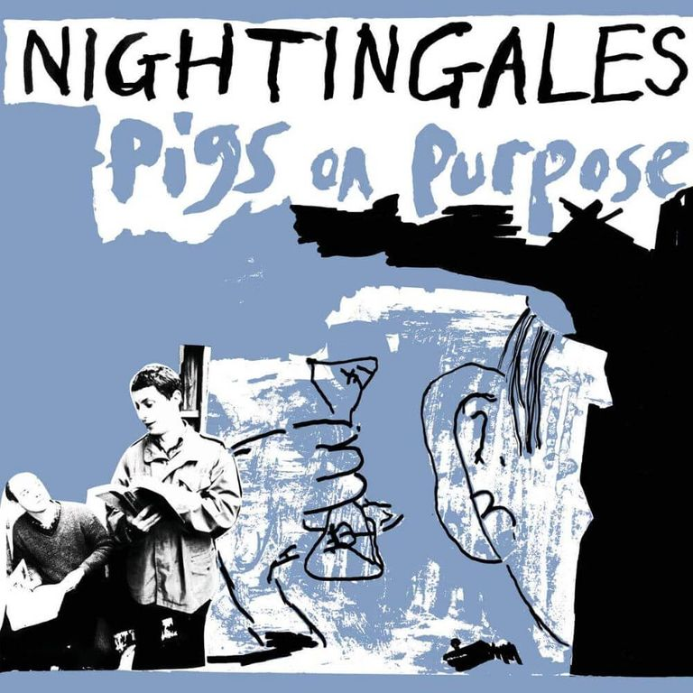 Album artwork of 'Pigs on Purpose' by The Nightingales