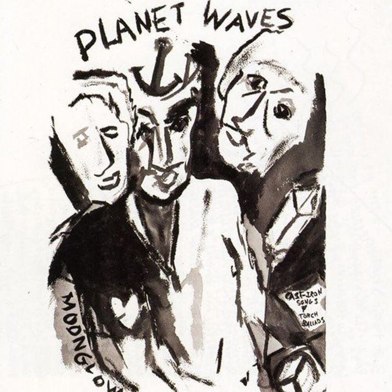 Album artwork of 'Planet Waves' by Bob Dylan