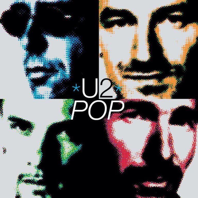 Album artwork of 'Pop' by U2