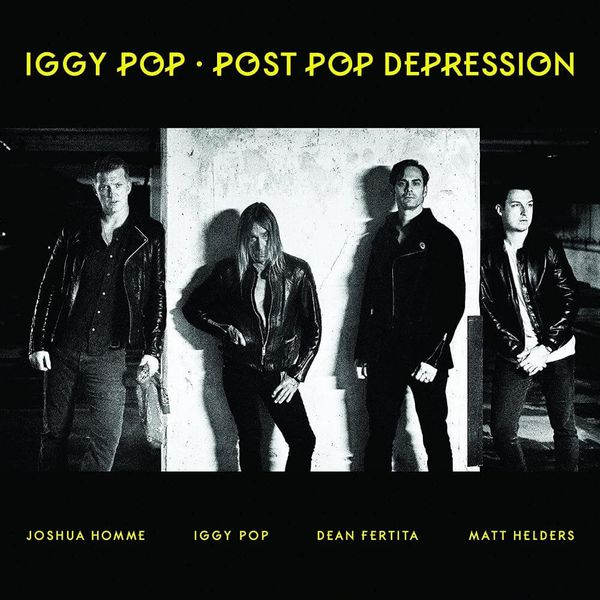Album artwork of 'Post Pop Depression' by Iggy Pop