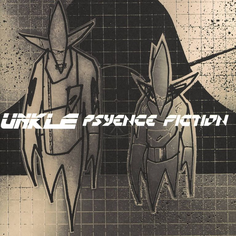 Album artwork of 'Psyence Fiction' by UNKLE