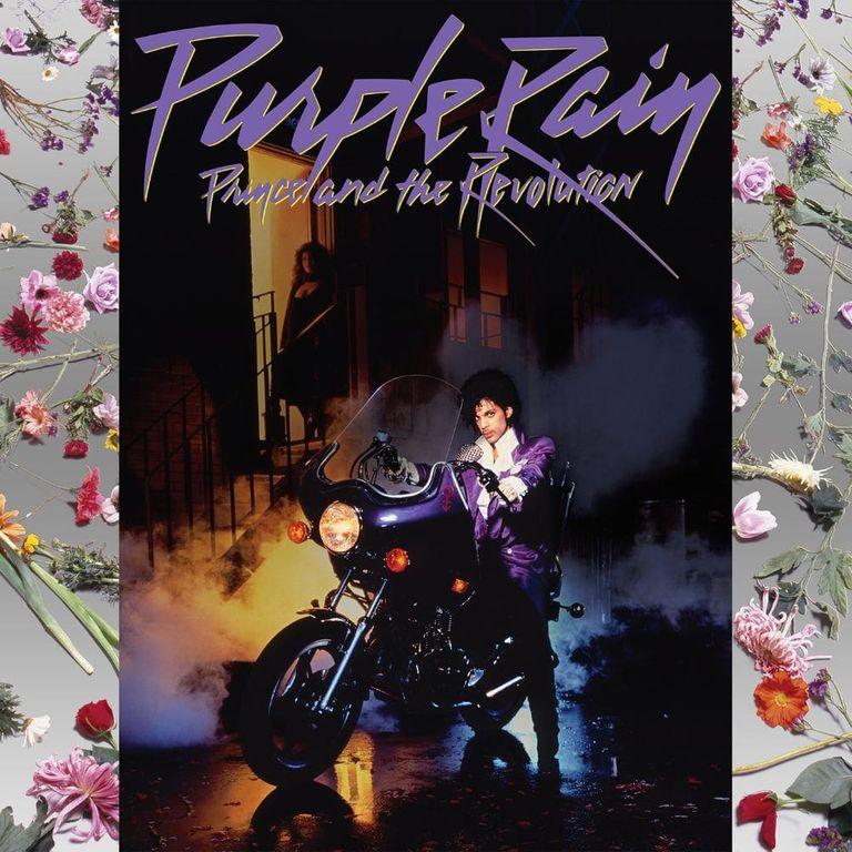 Album artwork of 'Purple Rain' by Prince