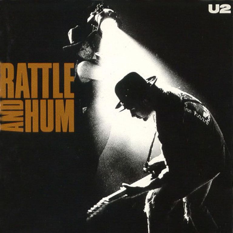 Album artwork of 'Rattle and Hum' by U2