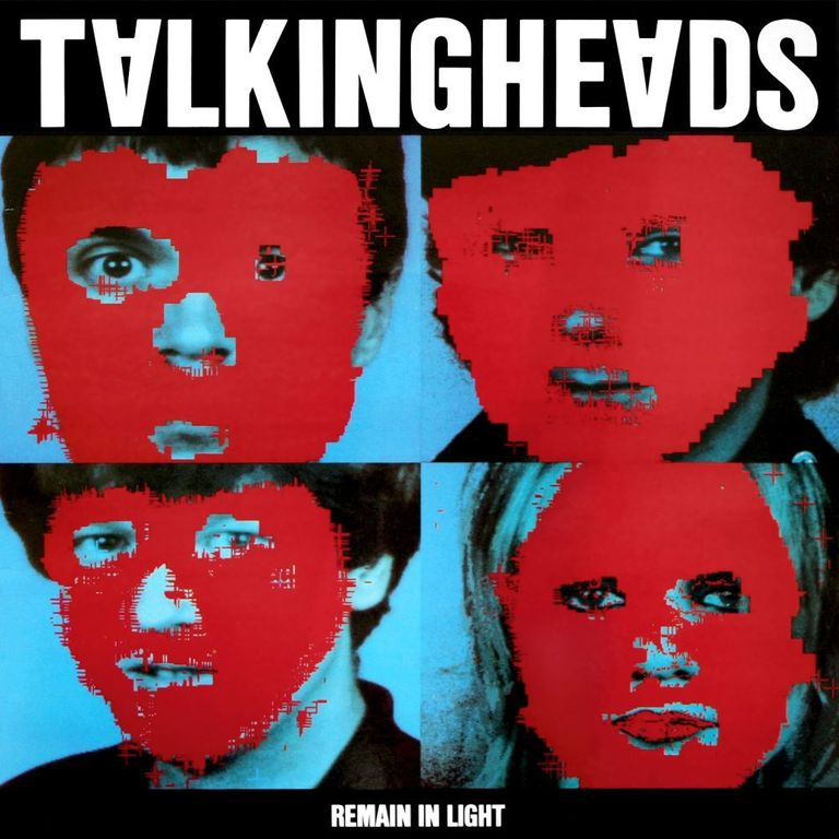 Album artwork of 'Remain in Light' by Talking Heads