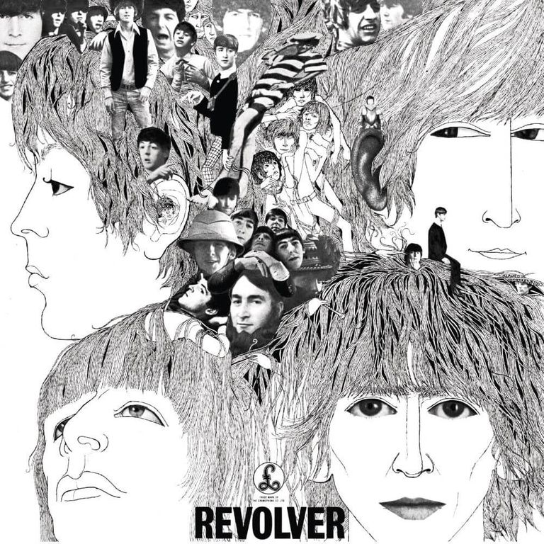 Album artwork of 'Revolver' by The Beatles