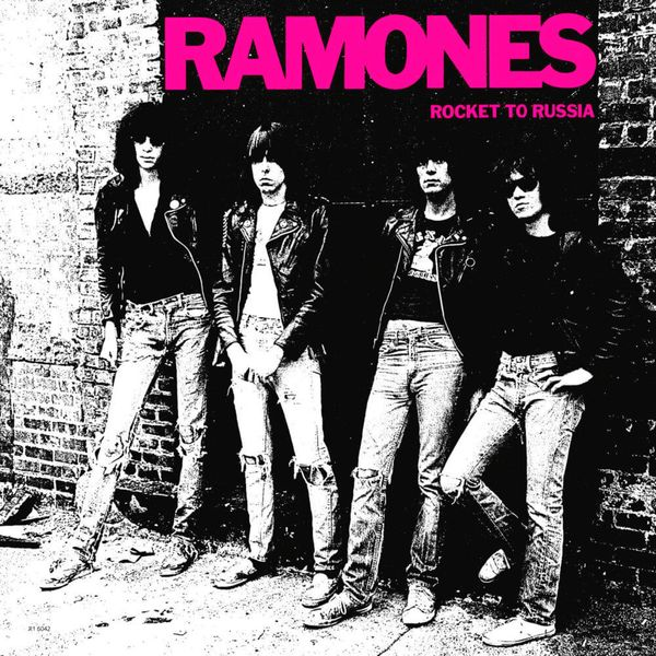 Album artwork of 'Rocket to Russia' by Ramones