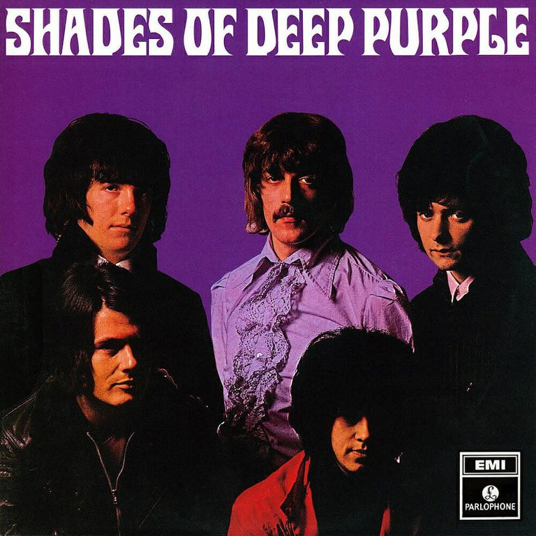 Album artwork of 'Shades of Deep Purple' by Deep Purple