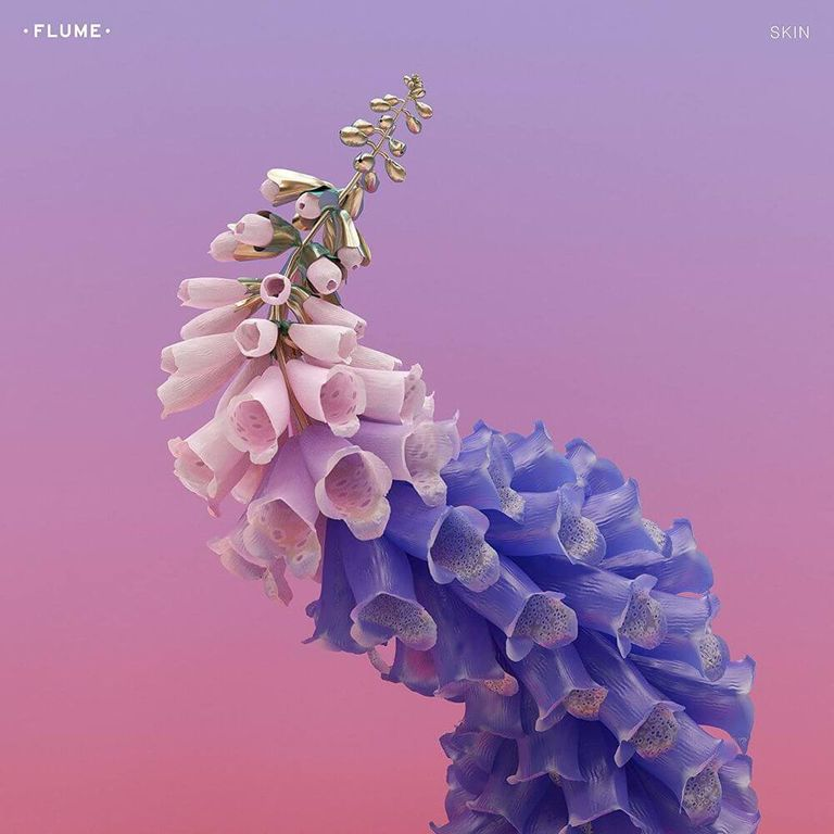 Album artwork of 'Skin' by Flume