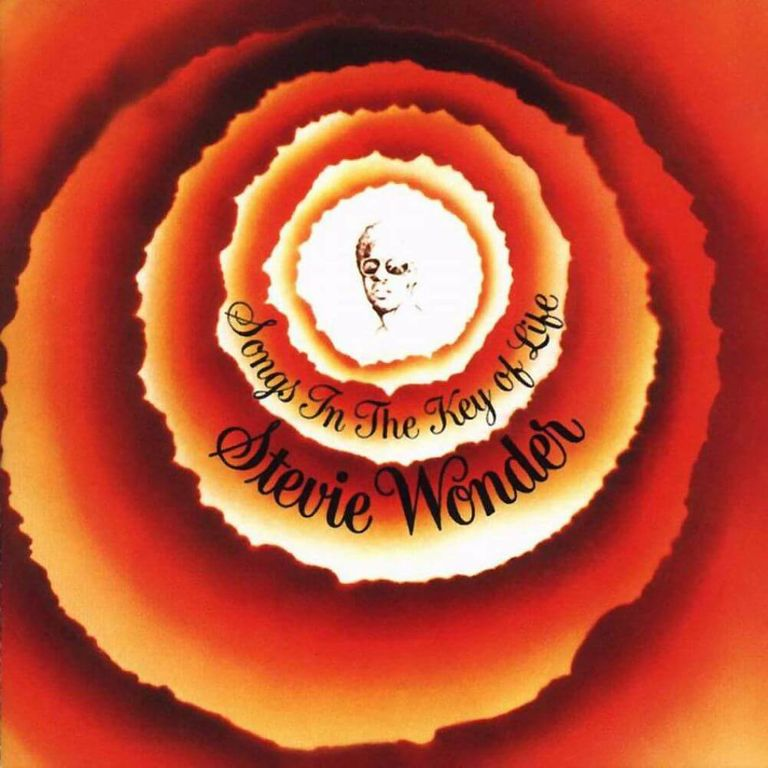 Album artwork of 'Songs in the Key of Life' by Stevie Wonder