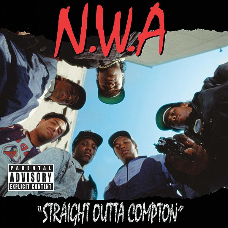 Album artwork of 'Straight Outta Compton' by N.W.A.