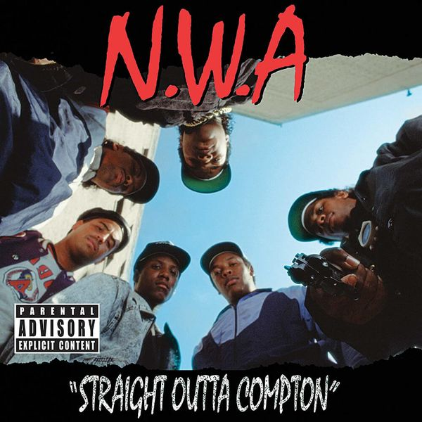 Album artwork of 'Straight Outta Compton' by N.W.A