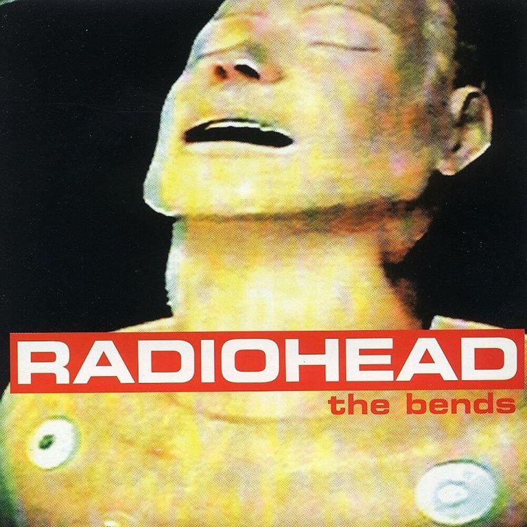 Album artwork of 'The Bends' by Radiohead