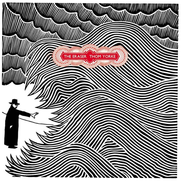 Album artwork of 'The Eraser' by Thom Yorke