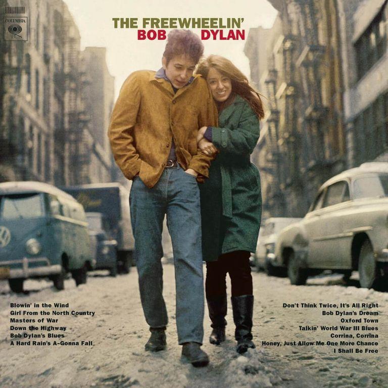 Album artwork of 'The Freewheelin' Bob Dylan' by Bob Dylan
