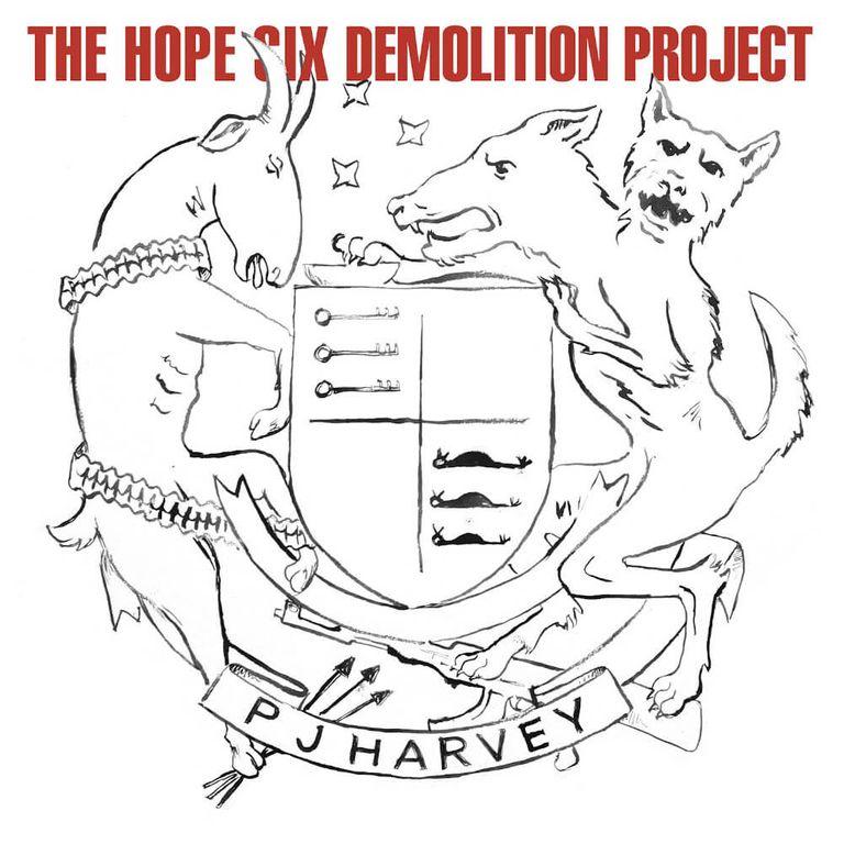 Album artwork of 'The Hope Six Demolition Progess' by PJ Harvey