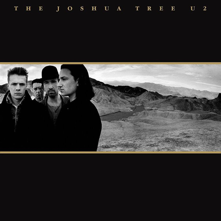 Album artwork of 'The Joshua Tree' by U2