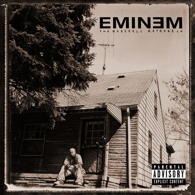 Album artwork of 'The Marshall Mathers LP' by Eminem