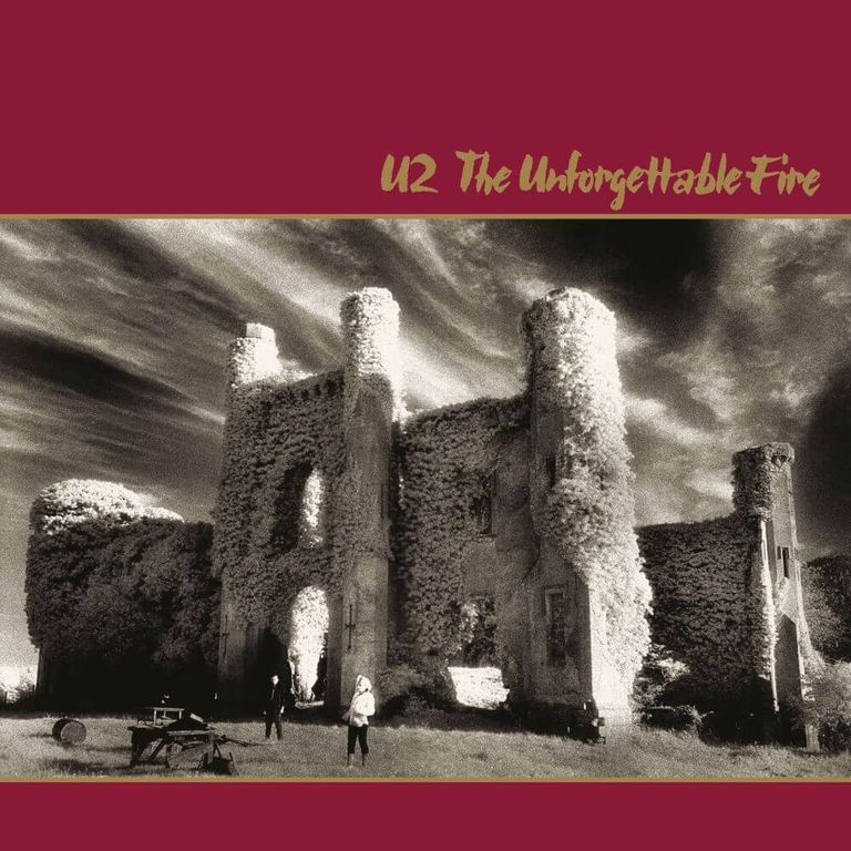 Album artwork of 'The Unforgettable Fire' by U2