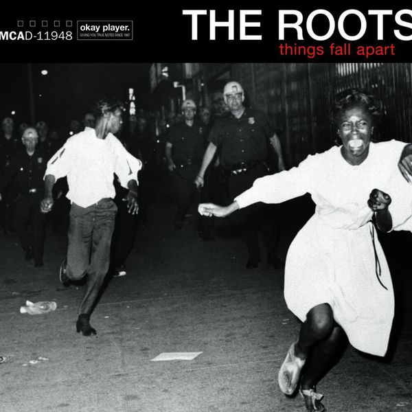 Album artwork of 'Things Fall Apart' by The Roots