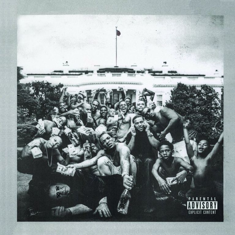Album artwork of 'To Pimp a Butterfly' by Kendrick Lamar