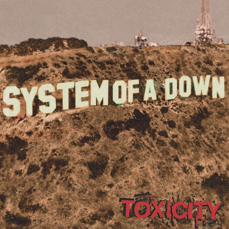 Album artwork of 'Toxicity' by System of a Down