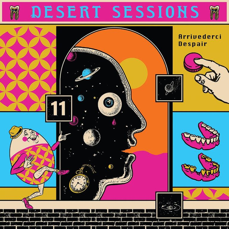 Album artwork of 'Vols. 11 & 12' by Desert Sessions