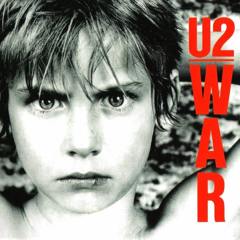 Album artwork of 'War' by U2