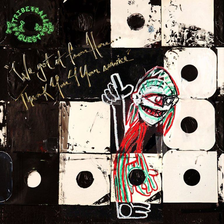 Album artwork of 'We Got It from Here... Thank You 4 Your Service' by A Tribe Called Quest