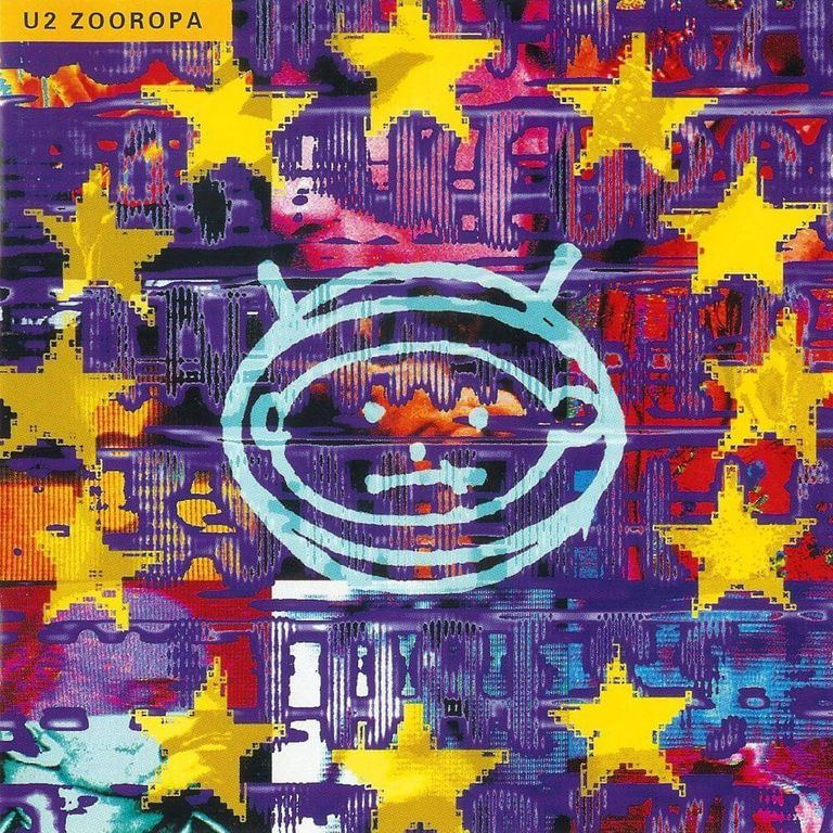 Album artwork of 'Zooropa' by  U2