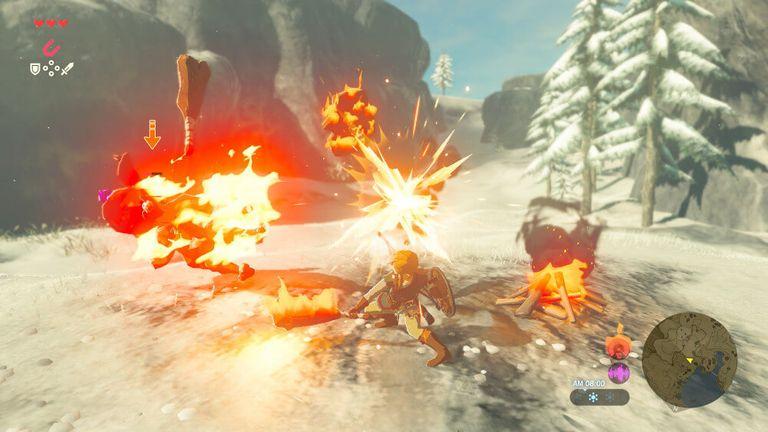 Gameplay screenshot of 'Breath of the Wild'