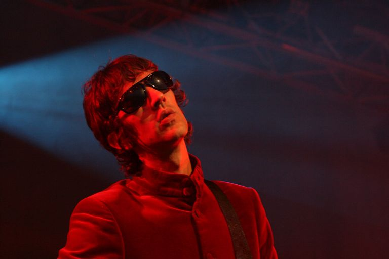 Richard Ashcroft performing in 2008