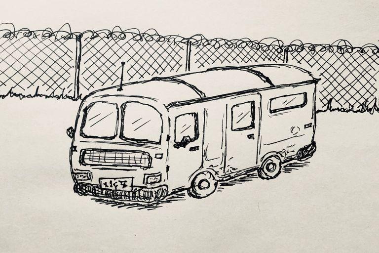 Illustration for Funnyfarm Part V: The Van