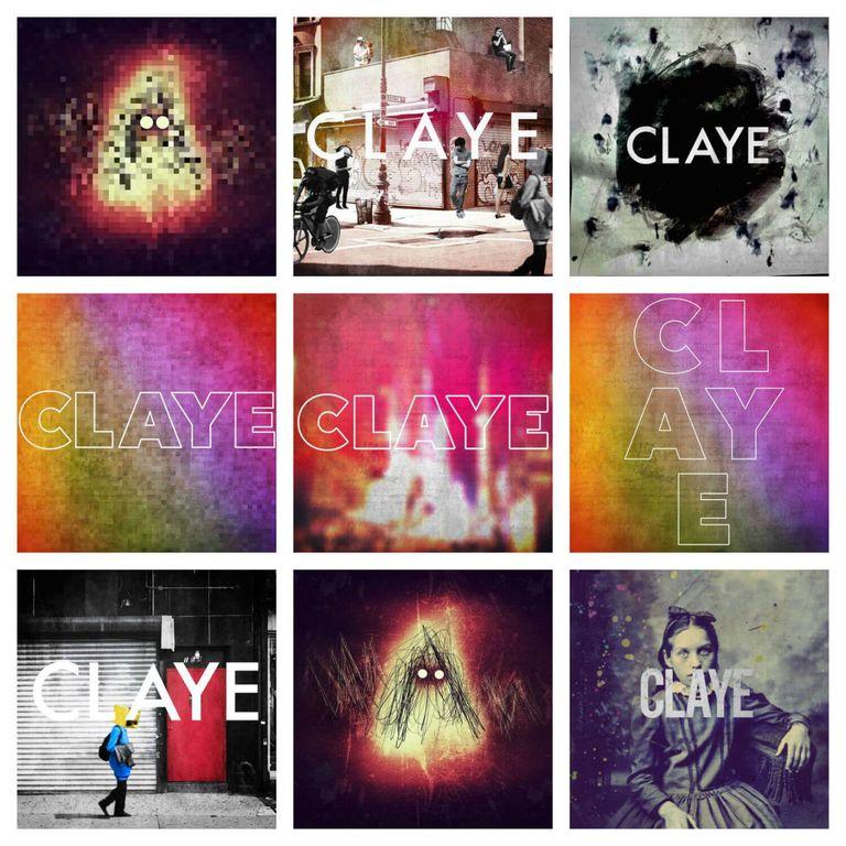 Alternative artwork for Dylan Seeger's album Claye